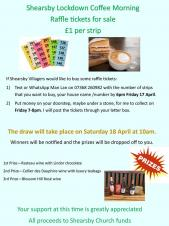 Shearsby Coffee Morning, Raffle