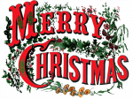 Image: Clip Art, Merry Christmas
